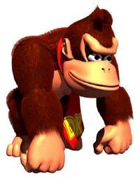 Donkey Kong was redesigned for the   series.