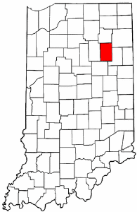Image:Map of Indiana highlighting Huntington County.png