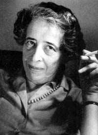 Hannah Arendt late in life