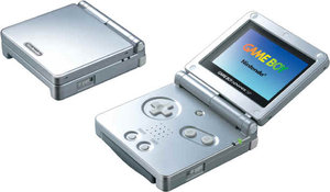 The Game Boy Advance is a best-selling handheld.