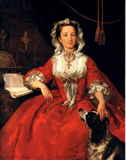 Portrait of Mary Edwards, 1742