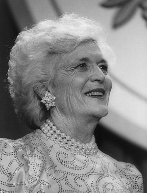 Barbara Bush, Portrait