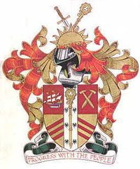 Arms of Newham London Borough Council