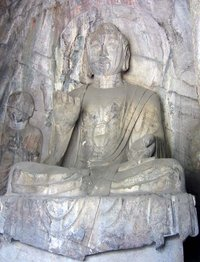 A   sculpture in the Hidden Stream Temple Cave, , .