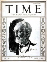 Times first cover on March 3, 1923