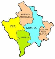 Districts in Kosovo
