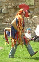 Chanticleer the rooster from an outdoor production of  at