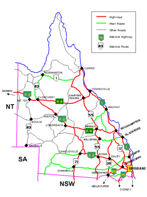 Queensland cities, towns, settlements and