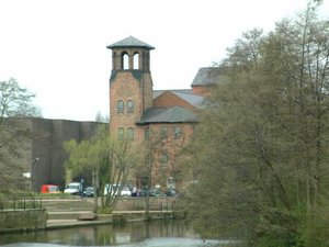 View of the Silk Mill