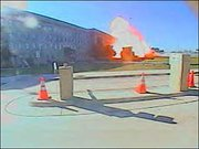 Image of the explosion at the Pentagon
