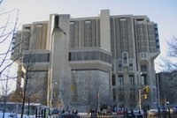 The front of Robarts Library