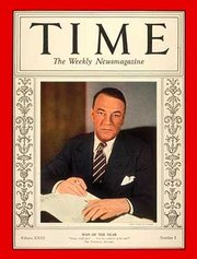 Hugh S. Johnson on the cover of Time