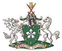 Arms of Bromley London Borough Council