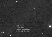 3753 Cruithne seen through the 0.75 m telescope of the Astronomical Society of Kansas City's Powell Observatory