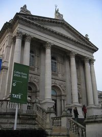 Main entrance to Tate Britain