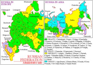 Federal subjects of the Russian Federation