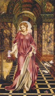 """Medea"" by Evelyn de Morgan, 1889, in Quattrocento style"