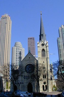 Holy Name Cathedral is the motherchurch of the Roman Catholic Archdiocese of Chicago.