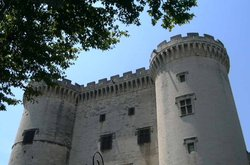 Front of  Castle,
