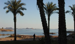 View of Lake Nasser from