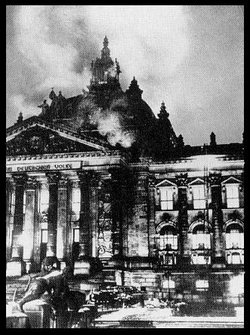 The Reichstag fire was a pivotal event in the establishment of .