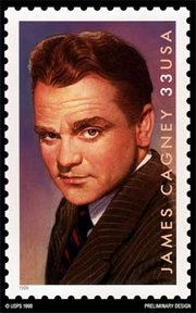 Jimmy Cagney was part of the Legends of Hollywood USPS stamp series.