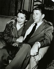 Nancy and Ronald Reagan married in 1952. Nancy Reagan became a powerful background figure in Ronald Reagan's rise and roles as governor and president.