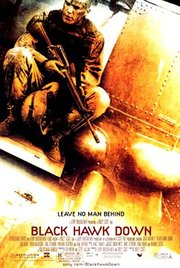 Movie Poster from Ridley Scott's Black Hawk Down