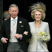 The Prince of Wales with HRH the Duchess of Cornwall.