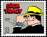 Dick Tracy USPS stamp