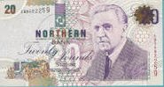 A £20 Northern Bank note.