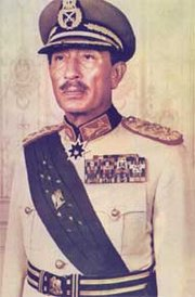 Anwar Sadat was jailed by the British for his pro-German activities