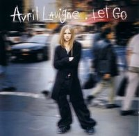 Lavigne on the cover of Let Go
