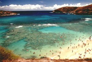 Hanauma Bay on
