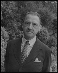W. Somerset Maugham as photographed in  by .