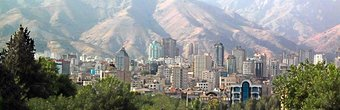 Tehran is a metropolis of 14 million situated at the foot of the towering Alborz range.