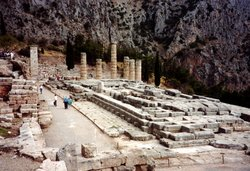 Temple of Apollo at .