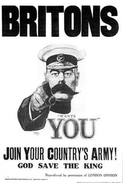 recruitment poster featuring Kitchener