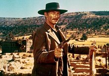 Lee Van Cleef from a scene in The Good, the Bad and the Ugly
