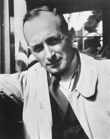 Adolf Eichmann, Germany 1940 Photo from  Photo Archives.