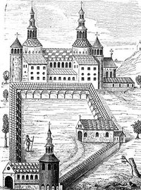 Castle Illustration provided by Classroom Clip Art (http://classroomclipart.com)