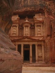"The ""Treasury"" at , , location of the Holy Temple in the movie"