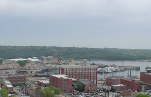 Downtown Dubuque and the Riverfront